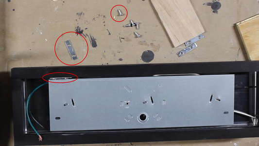 Install Stops for the Front Panel
