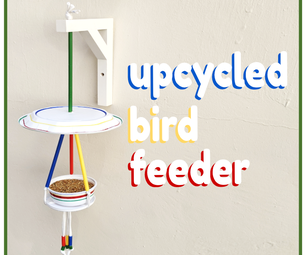 Upcycled Bird Feeder