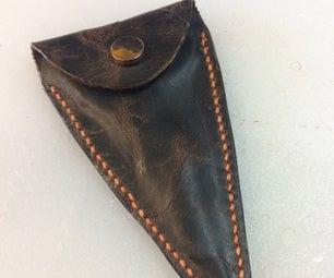 Leather Scissors Case