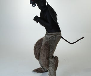 Devilish DIY: Make a Halfway-to-Halloween Jersey Devil Costume