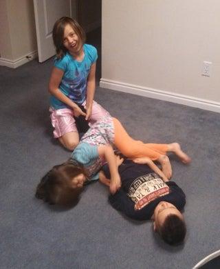 Girl tickle torture Spanish Tickling