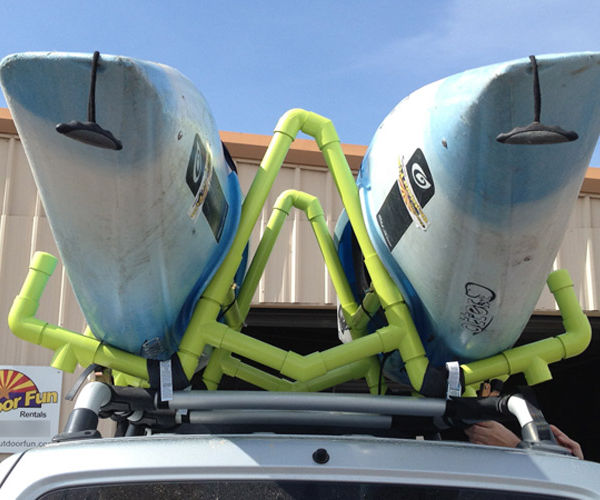 PVC Kayak Roof Rack/Carrier