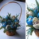 Candy-Flower Basket