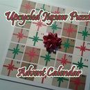 Upcycled Jigsaw Puzzle Advent Calendar