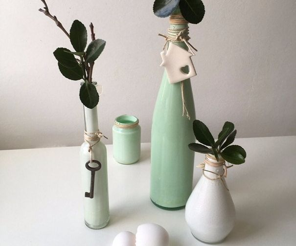 How to Make Easy Painted Vases