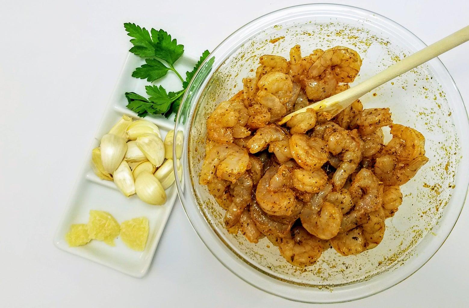 Prepare the Shrimp