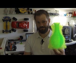 """The 3DPrinted """"Furry Vase"""""""