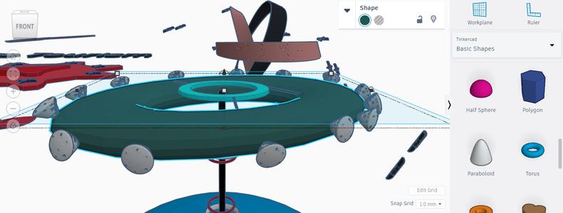 Main Spacecraft & Passage