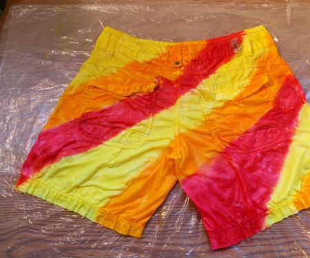 Ugly Shorts? Paint Em! Fabric Painting 101