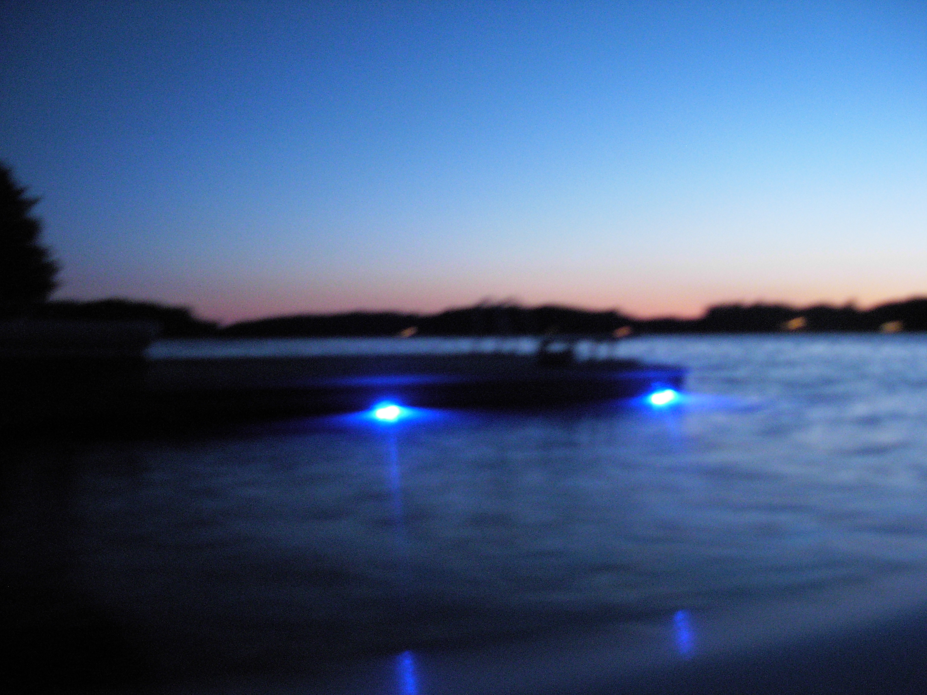Power LED underwater lights