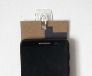 Quick-and-dirty Phone Holder
