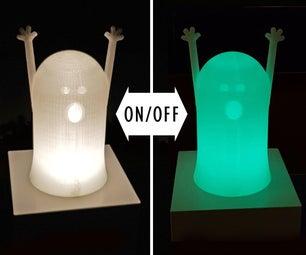 夜光3D打印幻灯