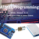 Atmega128A Proportional Motor Driving - ATMEL ICE AVR Timer UART PWM Control