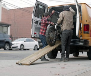 Easy Motorcycle Ramp