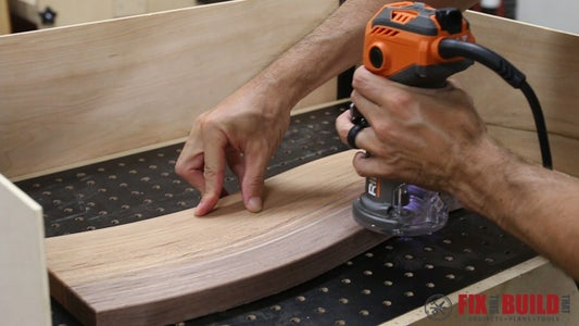 Cut the Board to Size and Prep for Finish