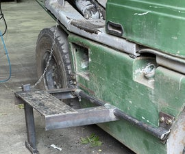 Low Tech Forklift Step