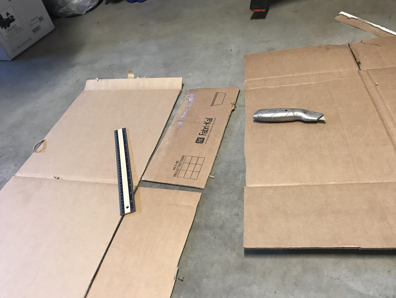 Step 1: Supplies and Cutouts