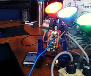 DIY自动音乐圣诞灯(Msgeq7 + Arduino)
