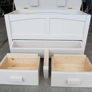 Making Entryway Storage Bench