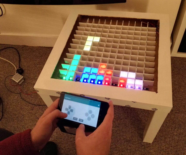 Arduino LED Coffee Table