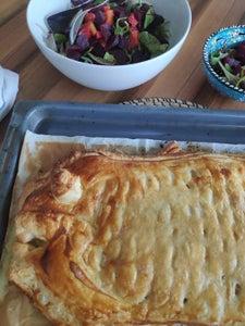 Easy – to – Make Salmon Pie