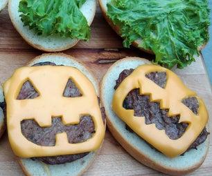 Halloween Cheeseburgers