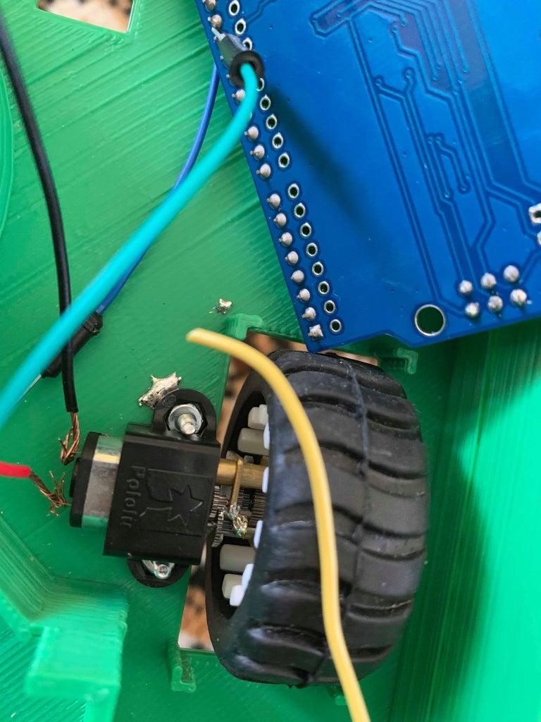 Setting Up Wheels and Motors