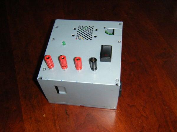 ATX Power Supply --> Cheap Bench-Top Power Supply