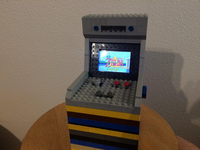 Lego Arcade Machine Case for GBA SP