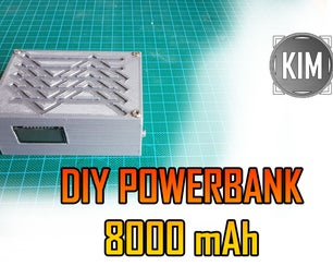 Mini Powerbank 8000 MAh