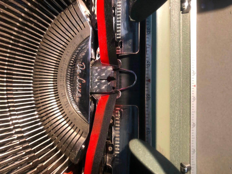 Attach New Ribbon to Ribbon Vibrator