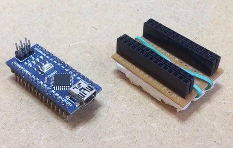 Arduino Nano Breadboard Adapter