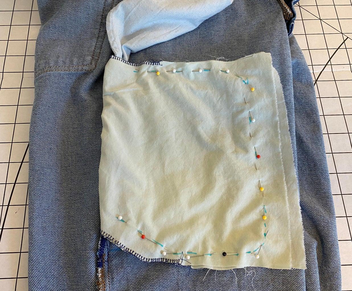 Sew the Pocket Together