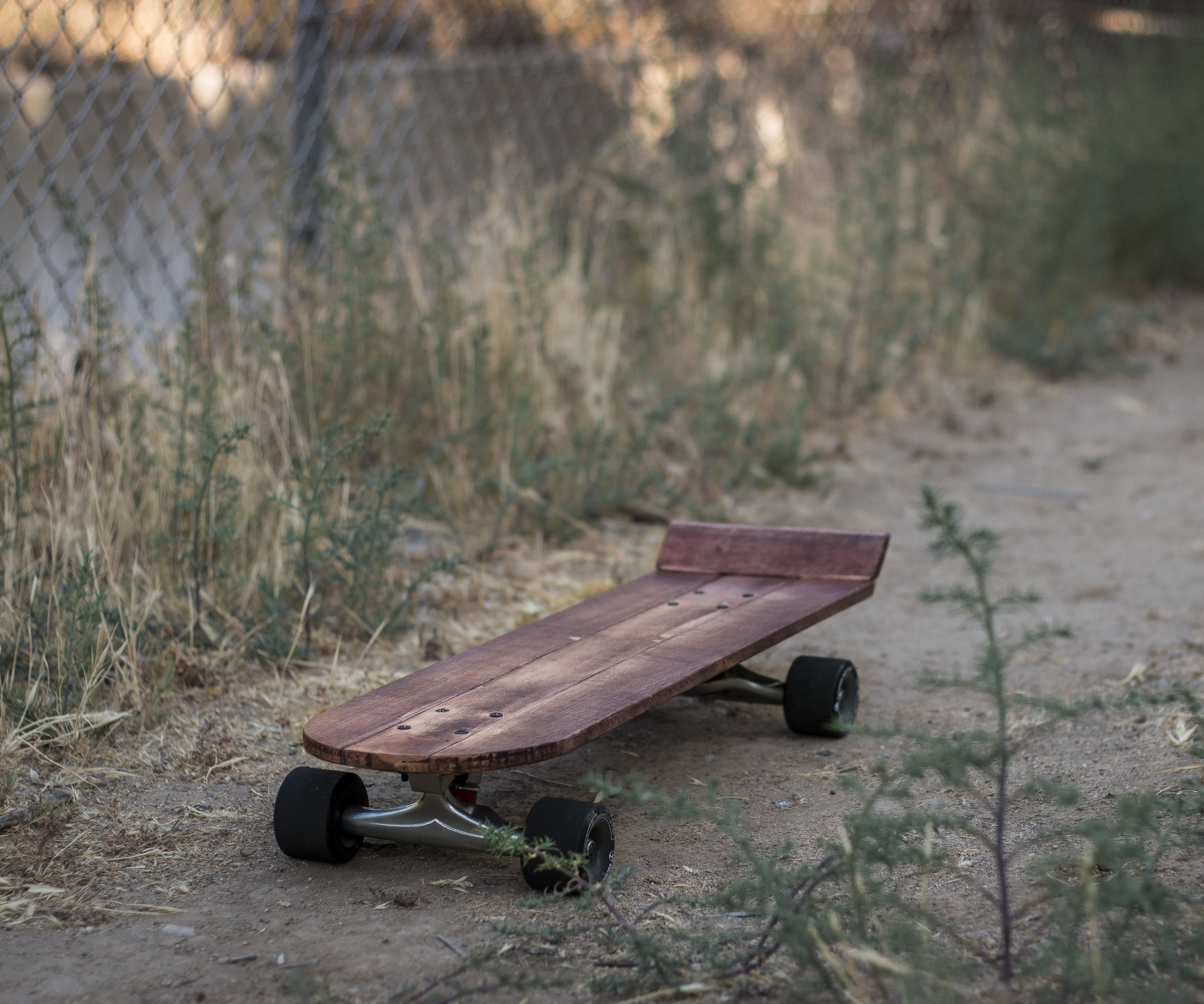 Vintage Inspired Skateboard