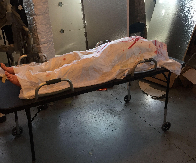 Halloween morgue gerney