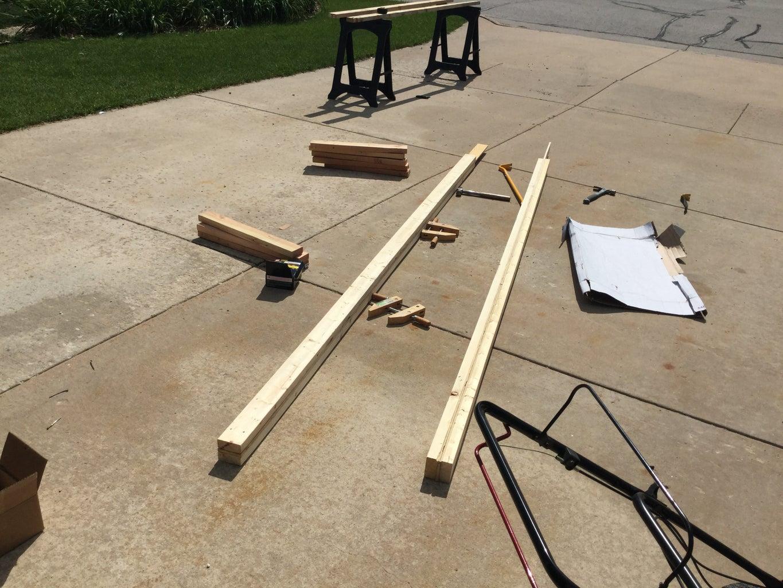 Rafter Base Plate/Gable Overhang