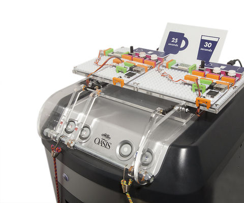 littleBits Data Collecting Water Cooler [Quantified Thirst]