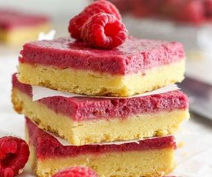 Raspberry Almond Bars