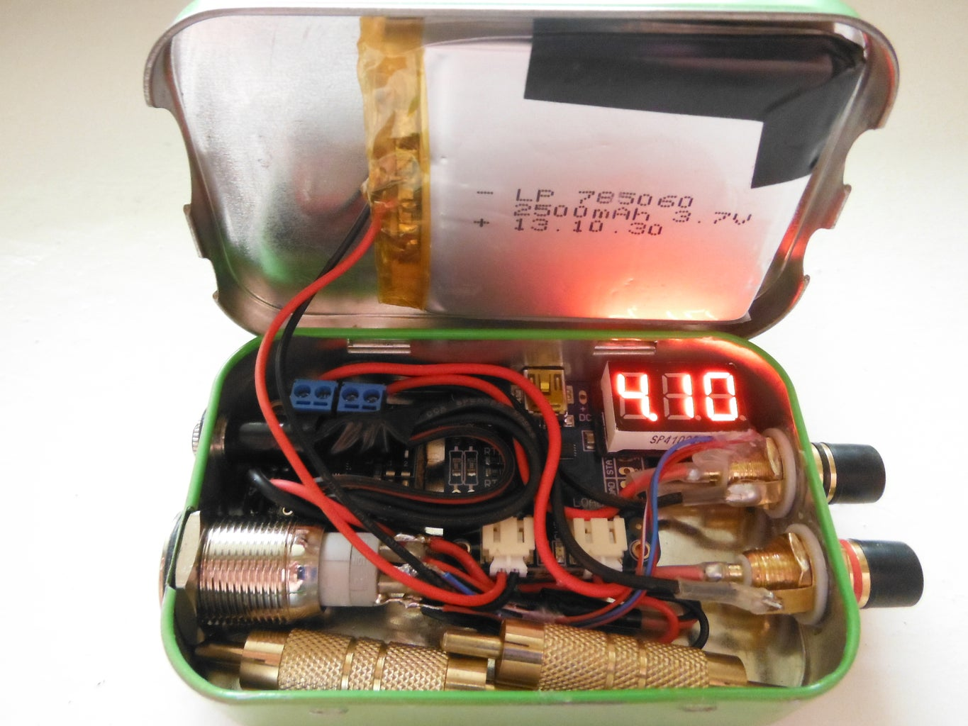 Another (Yes, Another) Altoids Tin Speaker