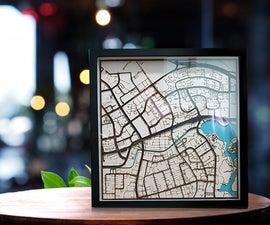 Lasercut: Street Maps