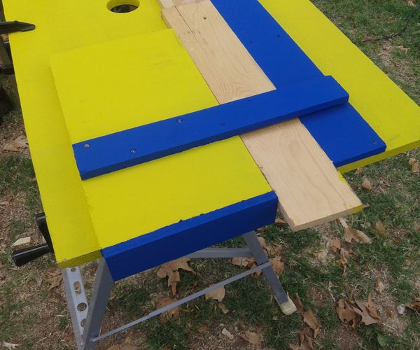 Removable Workbench and Jig