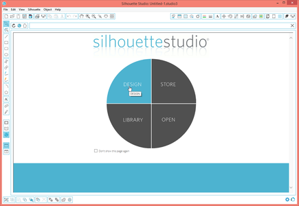 Open Silohouette Studio