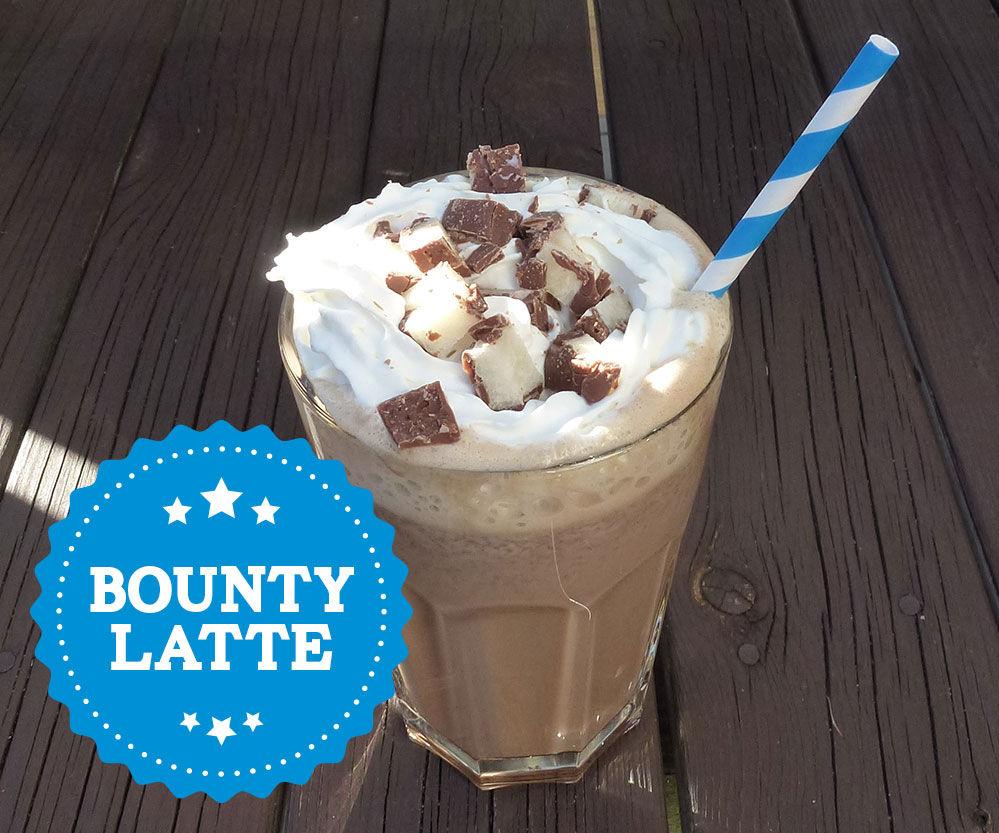Bounty Latte