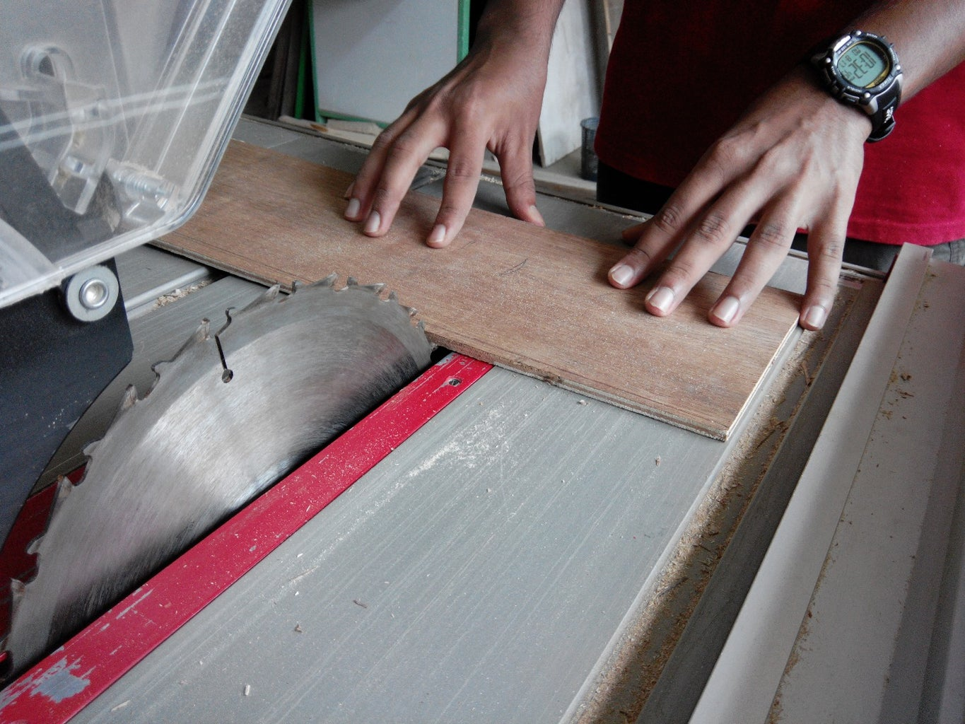 2. Cutting Out Square Plywood Sheets