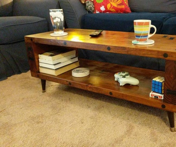 Bowtied Coffee Table