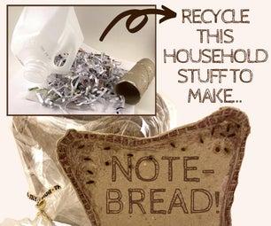 制作一条再生的笔记 - 面包(零碳水化合物!)