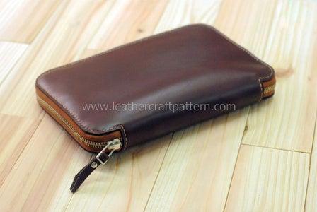 Leather Storage Bag