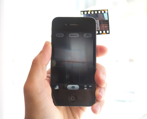 Cheap and Easy IPhone Microscope