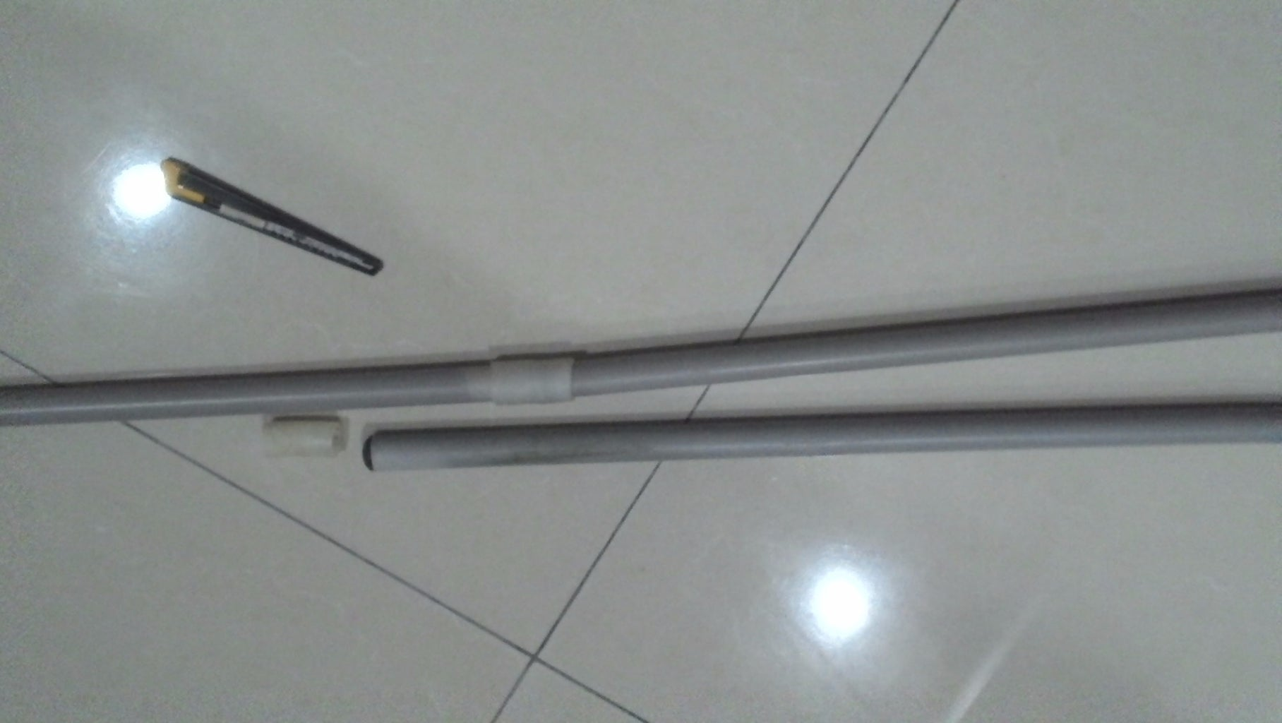 Connect for a Long PVC Pipe