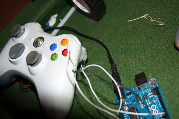 Mod Xbox 360 Controller Using Arduino (MW3)